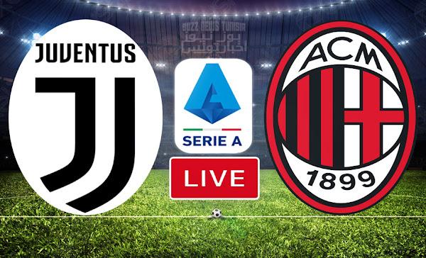 Match FootBall: Juventus vs Milan En Direct Serie A