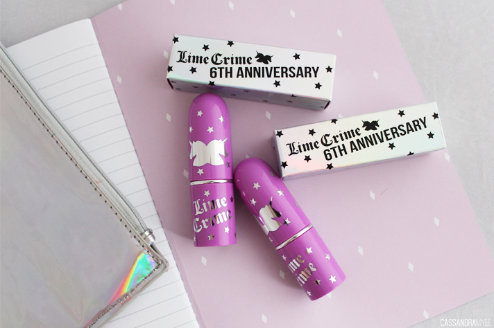 LIMECRIME // 6th Anniversary Opaque Cream Lipsticks | Review + Swatches - CassandraMyee
