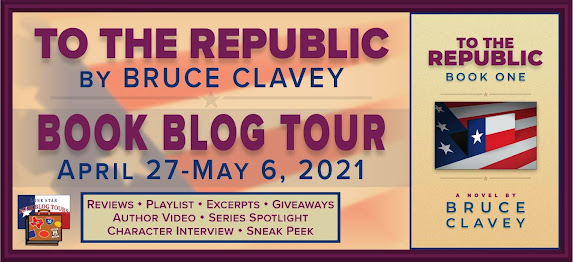To the Republic book blog tour promotion banner