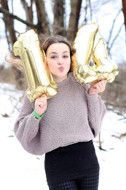 14th birthday photo ideas