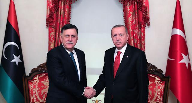 تركيا: مصر سعيدة بالاتفاق الذي وقعناه مع ليبيا