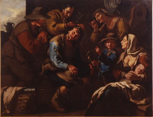 """La extracción de la piedra de la locura, """"Il Todeschini"""""""