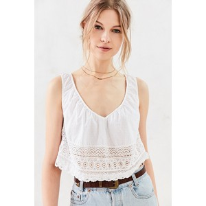 Urban Outfitters kimchi blue amelie lace swing tank