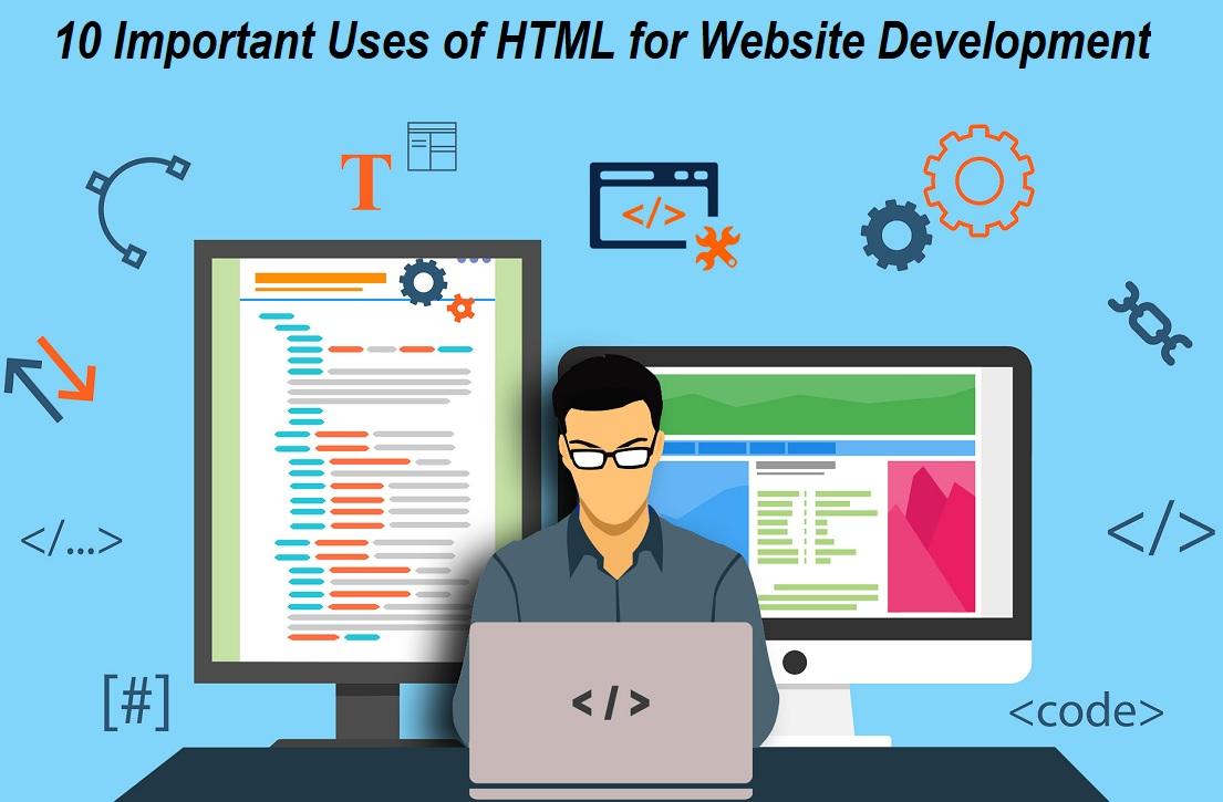 Uses of HTML for Website Development