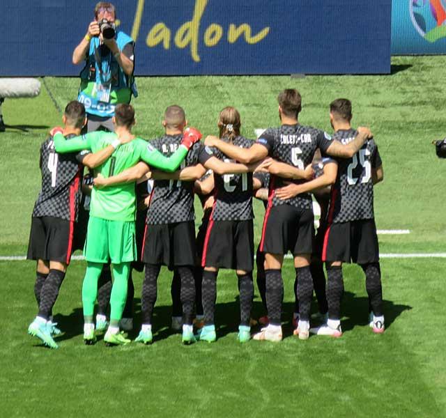 Croatia team