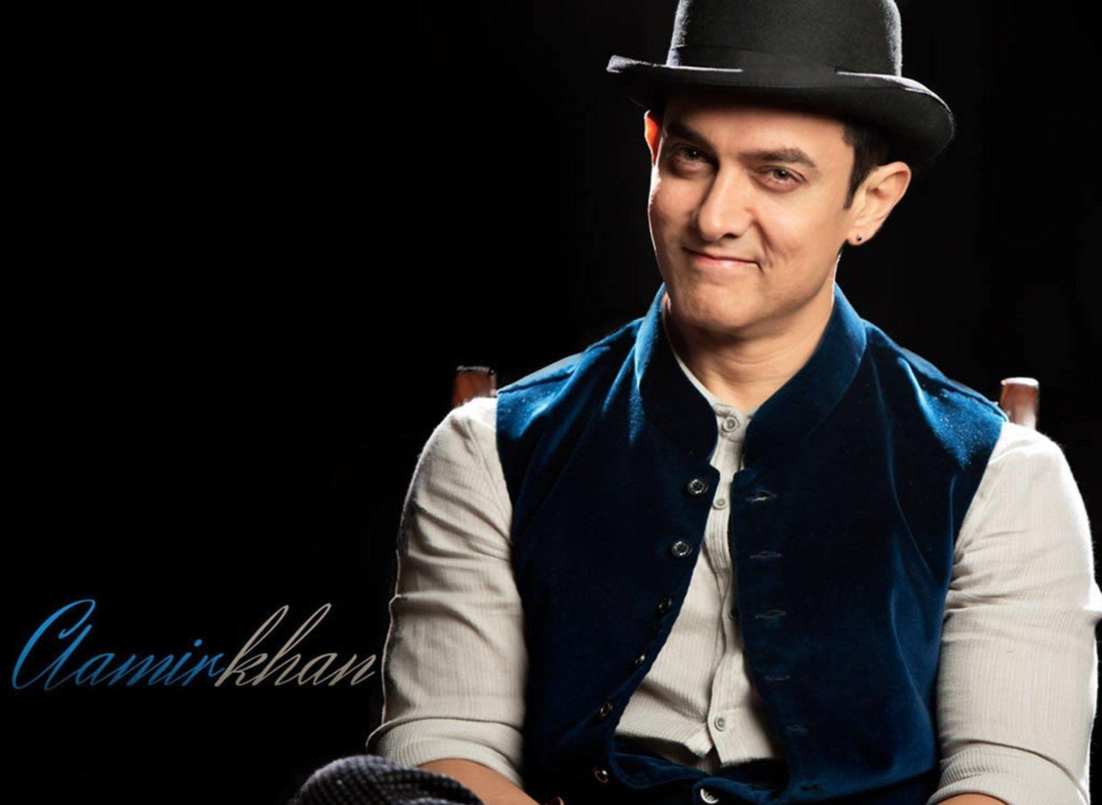 Aamir Khan's Smile