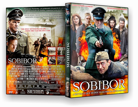 SOBIBOR – A REVOLTA QUE MUDOU OS RUMOS DA HUMANIDADE 2019 DVD-R