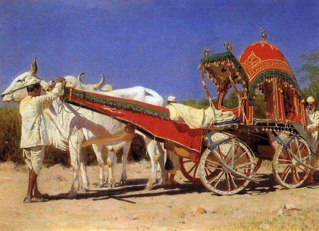 Василий Васильевич Верещагин - Повозка богатых людей в Дели. 1875