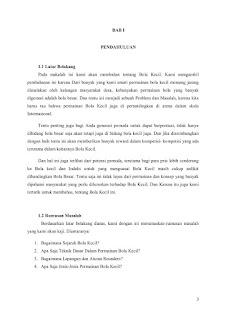 Contoh Makalah Tentang Bola Kecil Microsoft Word