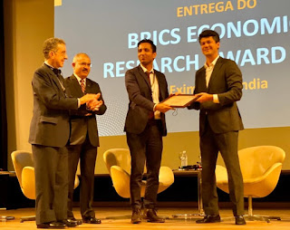 Exim Bank of India Announces the Winner of the BRICS Economic Research Award 2019