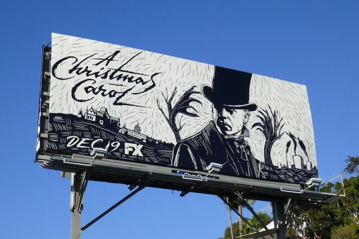 A Christmas Carol series premiere billboard