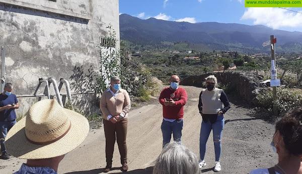 El Ayuntamiento de Los Llanos de Aridane comienza las obras de asfaltado de la segunda fase del Camino Los Campitos