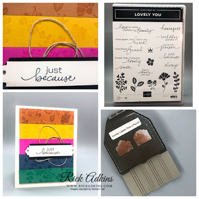 Lovely You Stamp Set, Lovely Labels Pick A Punch, 2020-2022 Stampin' Up! In Colors, Rick Adkins, Stampin' Up!
