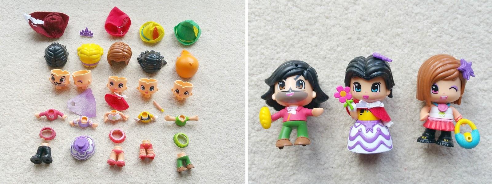 PinyPon Fairytale, Bandai toys, princess dolls