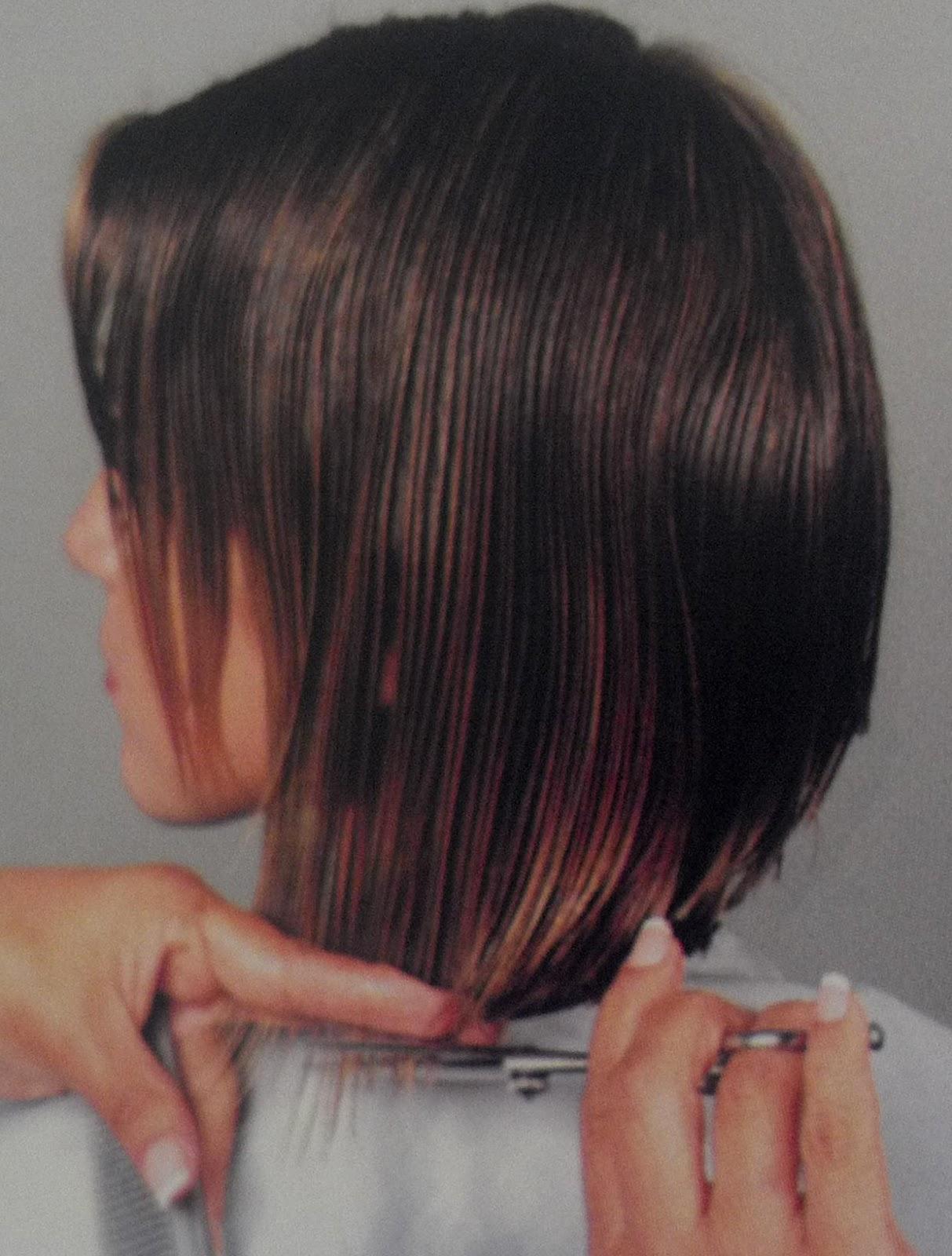 Como hacer corte de cabello concavo