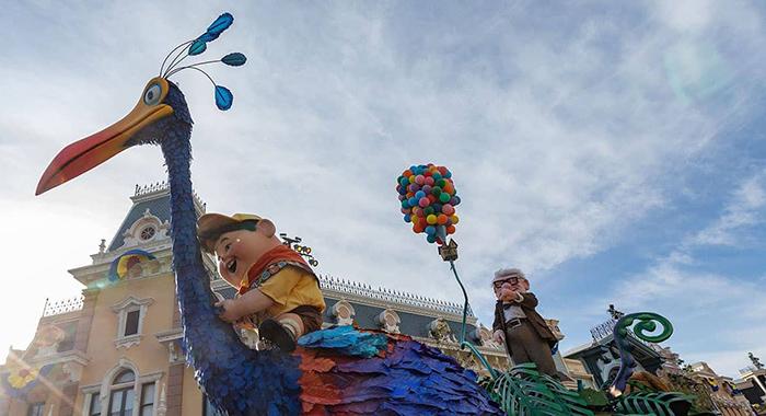 Pixar Play Parade.