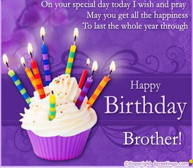 Top Images of Happy Birthday Wishes for Brother from Sister