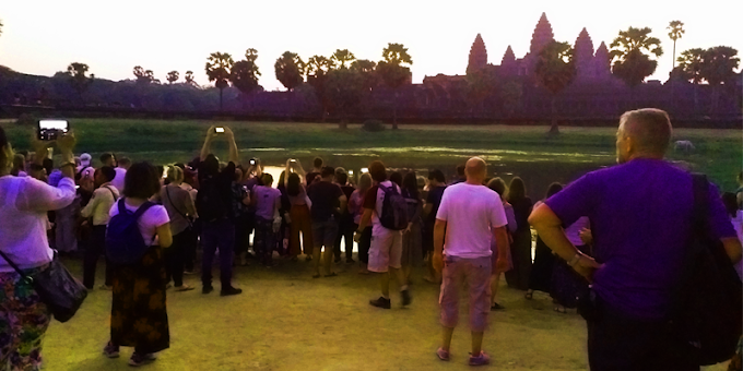 Quelques conseils pour éviter la foule dans le parc d'Angkor