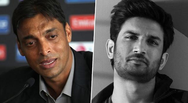 sushant sing rajput, shoib akhtar, pak cricketer, bollywood, newzbangla