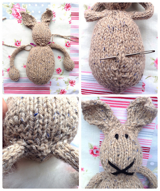 Remember These Bunnies Free Knitting Pattern Crafts From The Cwtch