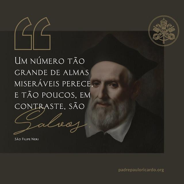 Frase de São Felipe Neri