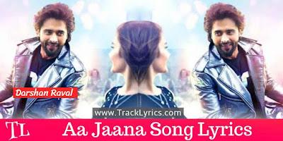 aa-jaana-lyrics
