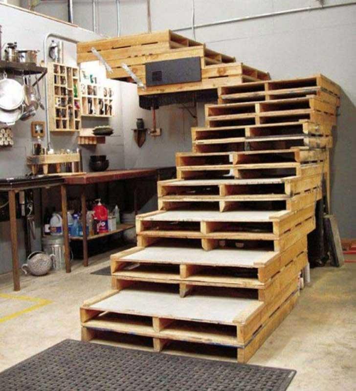 8 cosas geniales que puedes hacer con tarimas de madera o - Que puedo hacer con un palet ...