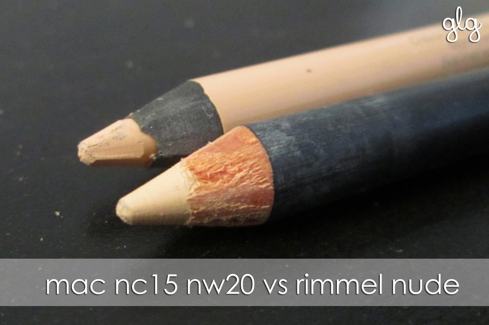 NUDE LINER | MAC NC15 NW20 vs RIMMEL SCANDALEYES NUDE - Girl Loves