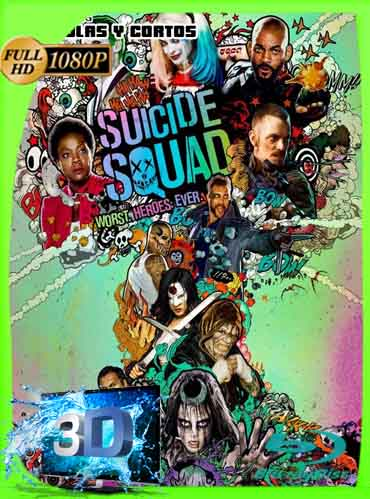 Escuadrón Suicida (Suicide Squad) (2016) Latino Full 3D SBS 1080P [GoogleDrive] dizonHD