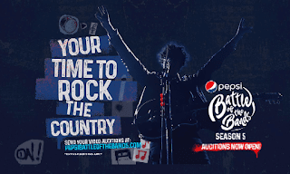 Pepsi Battle of the Bands Season 5 | Auditions Are Open
