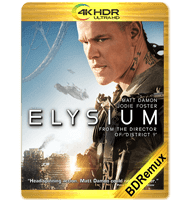 ELYSIUM (2013) BDREMUX 2160P HDR MKV ESPAÑOL LATINO