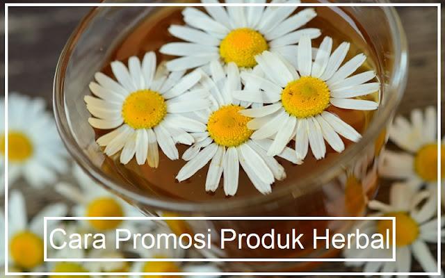 promosi produk herbal