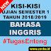 Kisi B. Inggris UAS Gasal 2018/2019 SMK Pemalang