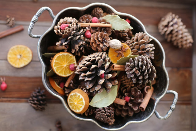 DIY Cinnamon Pinecones