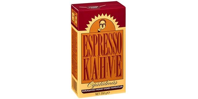 kurukahveci mehmet efendi espresso kahve fiyatı - nasıl yapılır - KahveKafeNet