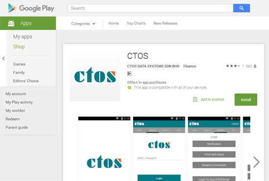 Cara Semak Status Kredit CTOS Secara Online