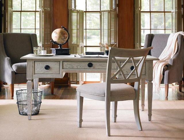 best buying white rustic office desk and chair for sale