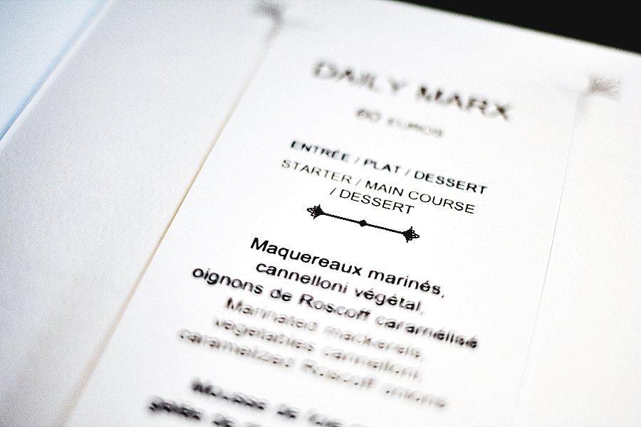mandarin oriental paris food experience menu