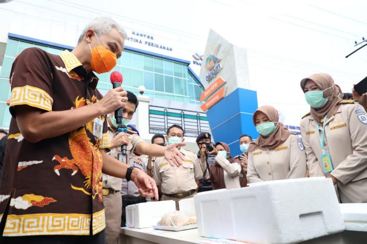 Meski Pandemi, Ekspor Produk Perikanan dan Kelautan Jateng Tetap Bangkit