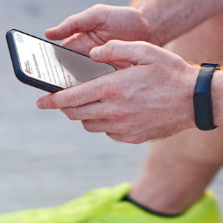 A user views the redesigned website for Methodist Sports Medicine on his smartphone