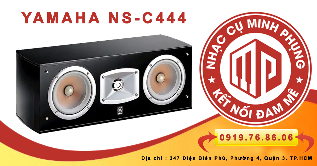 Loa Center Yamaha NS C444 Black