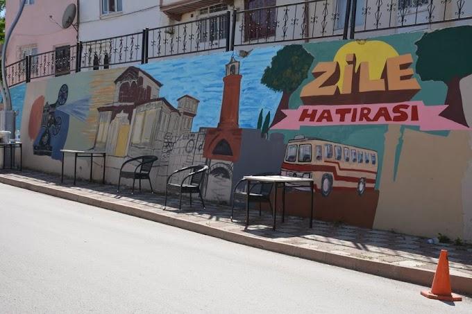 Zile Belediyesi Şehrin Kültürel Geçmişi Duvar Resimlerinde…