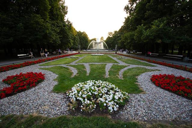 Giardini sassoni e tomba del milite ignoto-Varsavia