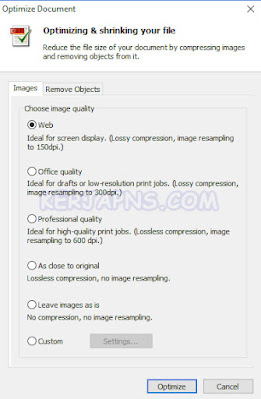cara mengurangi ukuran pdf di nitro pdf