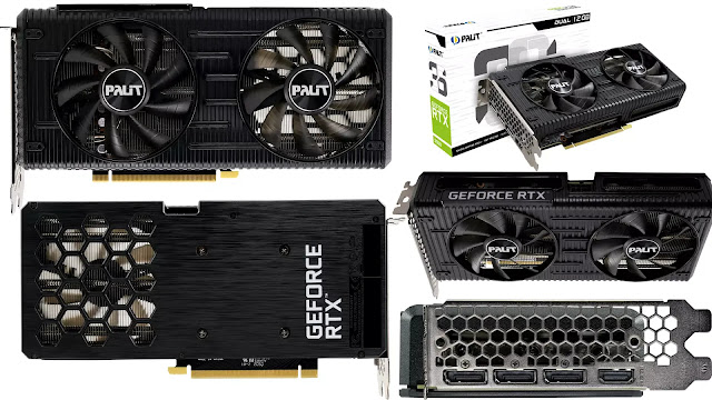 Palit-GeForce-RTX-3060-12GB-DUAL-Front-Top-Side-Back-IO-Box-View