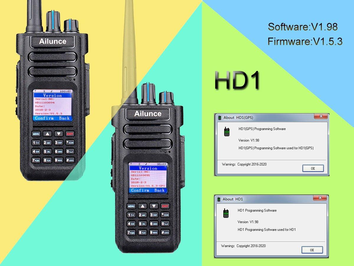 Delboy's Radio Blog: Ailunce HD1 Firmware Update (August 2018)