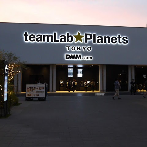 teamLab: Borderless OR Planets?