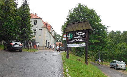 Kudowa-Zdrój. Siedziba Parku Narodowego Gór Stołowych.