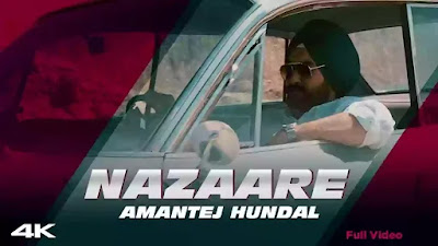 Checkout Amantej Hundal Song Nazaare Lyrics penned by Bindri Bhangu for Mainstream Album