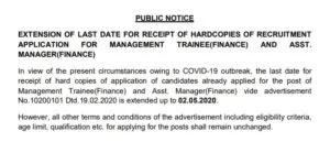 nalco recruitment 2020 corrigendum